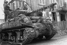 Shermans of WW2