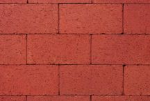 Red Thin Paver   Triangle Brick Company / Ideal for a nearly endless range of both DIY and commercial paving projects, Triangle Brick Company's Red Thin Paver gives a timeless look to pedestrian streets, landscaping, patios, driveways and walkways alike. This paving brick features a bright red color that looks elegant with or without mortar. Like the look and feel of this brick paver, but on the hunt for a different style? Need a larger bed-depth? Try our Red Modular Paver.