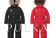 Зимняя мода для детей 2016