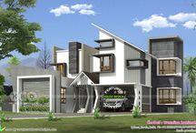 Morden houses concept