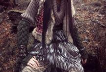 Mongolia inspired fashion