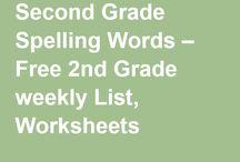 Language Arts - spelling