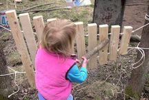 Montessori outdoor play