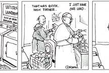 Pope cartoons