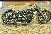 Sculpture moto