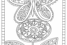 zentangles and doodles