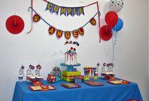 Kit de fiesta Dogs Party