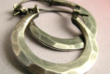 Handmade Hoop Earrings / A variety of handmade hoop earrings.   / by Beth Millner Jewelry