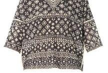 Patterned knits