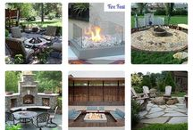 Flaming hot fire pit ideas