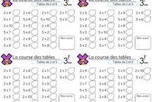 Tables multiplication