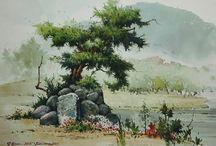 Художник Sung Ki Jeon