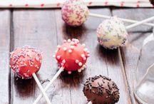 Cake pops y piruletas de chocolate