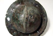 Ancient armours Shields / Greek hoplite shield - Roman shield - Greek aspis shield - Macedonian shield - Luristan shield