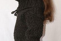 Extra kratzig/ extreme scratchy / Extra kratige Stricksachen / extra scratchy knitwear