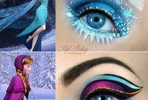 I love EYESHADOW I Like face paint I Like Body paint / by Nacikka brison