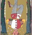 Tarot 12 - o enforcado - the hanged man / by Gabriela Simionato Klein