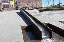 Przestrzeń publiczna - Fornebu Norwegia
