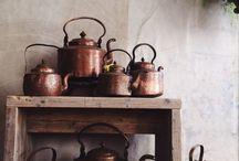Vintage kettles