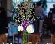 Esküvői asztali díszek