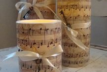 Recycled Sheet Music