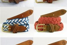 belts, belts and more belts... / by Aimee Read