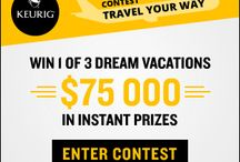Canadian Sweepstakes and Contests / Participate for a Chance to Win 1 of 3 Dream Vacations with the Travel Your Way contest by Keurig  http://www.planetgoldilocks.com/Canadian_sweepstakes.htm  #sweepstakes  #canadasweepstakes