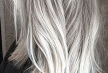 Grey hair color and others