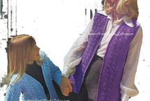Vintage Crochet Vests or Waistcoats / crochet patterns for fab retro vests, waistcoats -always fun and useful too!