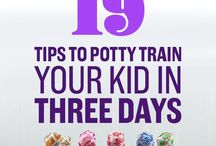Potty training / Tips and advice for potty training. Lots of support of when and how best to potty train your little one.