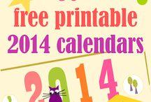 calendars / by Barb Kroger