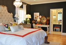 bedroom re-do inspiration / by Jaime Roszak