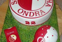 fotbalové dorty