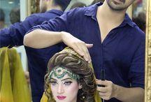 wedding reception hairstyle