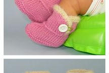 Booties / Slippers / Socks / Booties / Slippers Knitting Patterns
