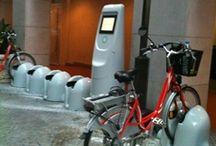 vélos électriques en libre service / infrastructure de charge pour les vélos électriques