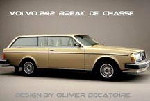 oldtimers Auto's Volvo