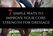 Wellness / equestrian / workouts / exercises / yoga / stretching / strength / riding / wellness