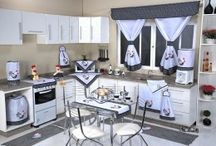 jogo de cozinha tecido