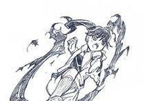 manga sketches