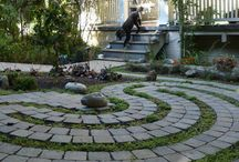 Labyrinth Paving Ideas