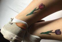 Matching Best Friend Tattoos