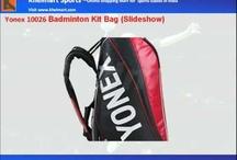 Yonex Badminton Kit Bags / Yonex Badminton Kit Bags In India http://www.khelmart.com/Badminton/Badminton-Kit-Bags/Brand1/6-Yonex.aspx