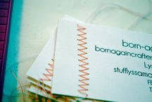 Do.. Crafty Business / Tips, ideas and instructions related to a crafting business.  / by Kelly Rachel
