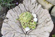 Beton Blätter