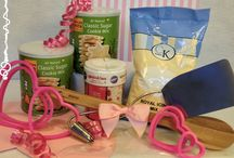 Baking kits - Gluten Free too! / Ultimate Baker has new products! Baker Bins has great baking kits just in time for Valentines day! http://www.cooksdream.com/store/category/baker-bins.html