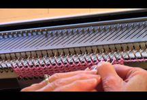 Knitting Machine Techniques & Tips