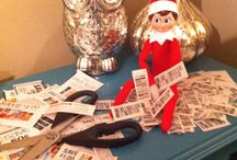 Elf on the shelf! Ideas.  / by Ashley Copeland
