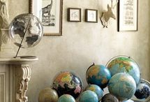 global warming.... / globes..globes..globes / by Connie K.