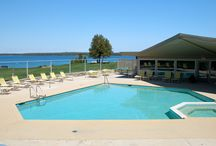 Things To Do / With 4 miles of hiking and biking trails, the beach, outdoor pool, large lawn area for yard games, tennis court, basketball court, kayak rentals, large pier for fishing or  simply catching rays.......there is always something to do at Gordon Lodge. / by Gordon Lodge
